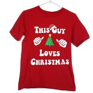 Christmas T-Shirt Youth Large Funny